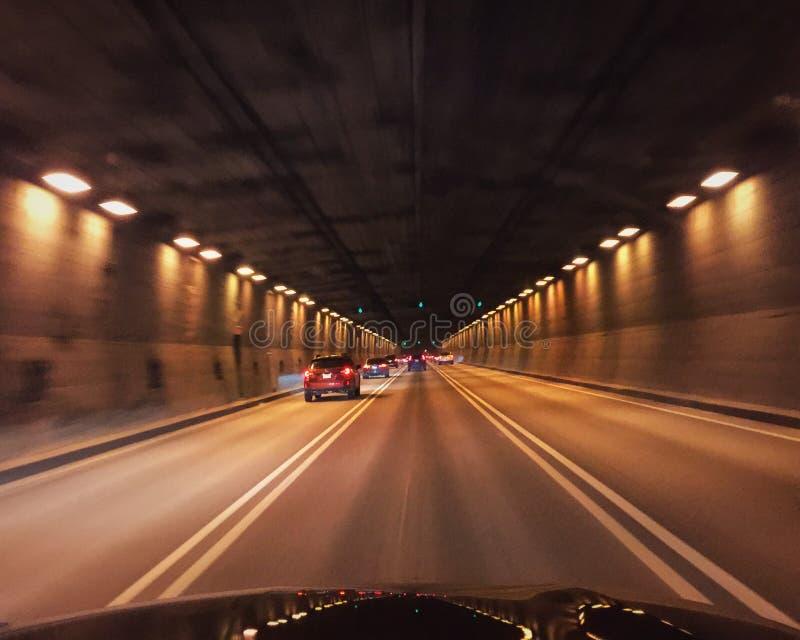 Ville-Marie tunel obraz royalty free