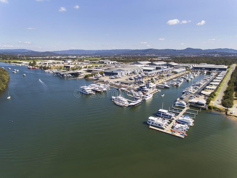 Ville Marina Coomera de la Gold Coast photos libres de droits