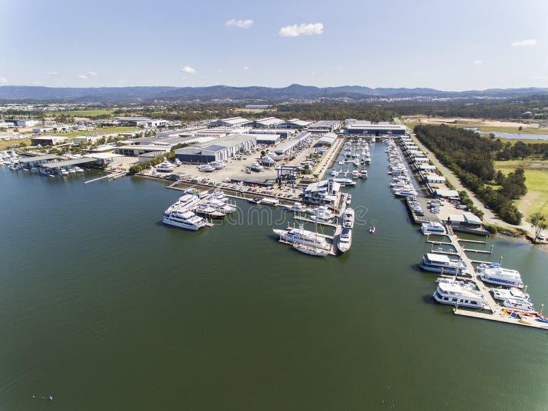 Ville Marina Coomera de la Gold Coast images stock