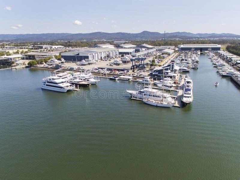 Ville Marina Coomera de la Gold Coast image libre de droits