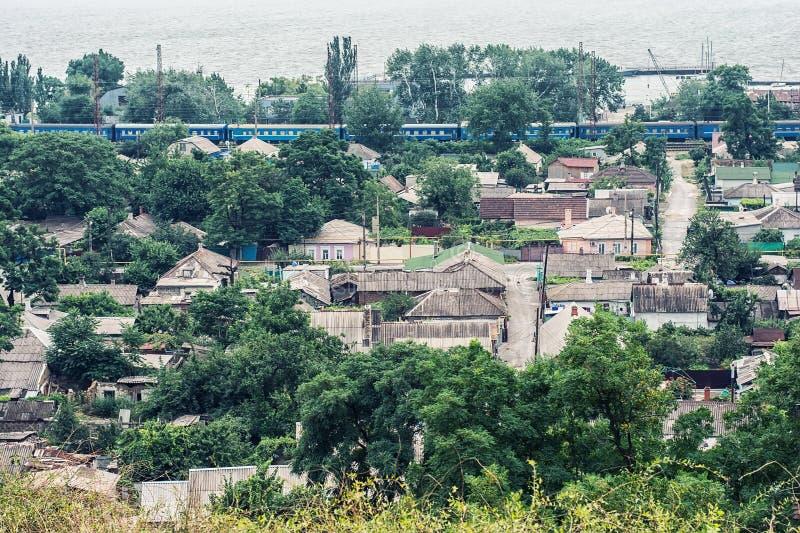 Ville Mariupol image libre de droits