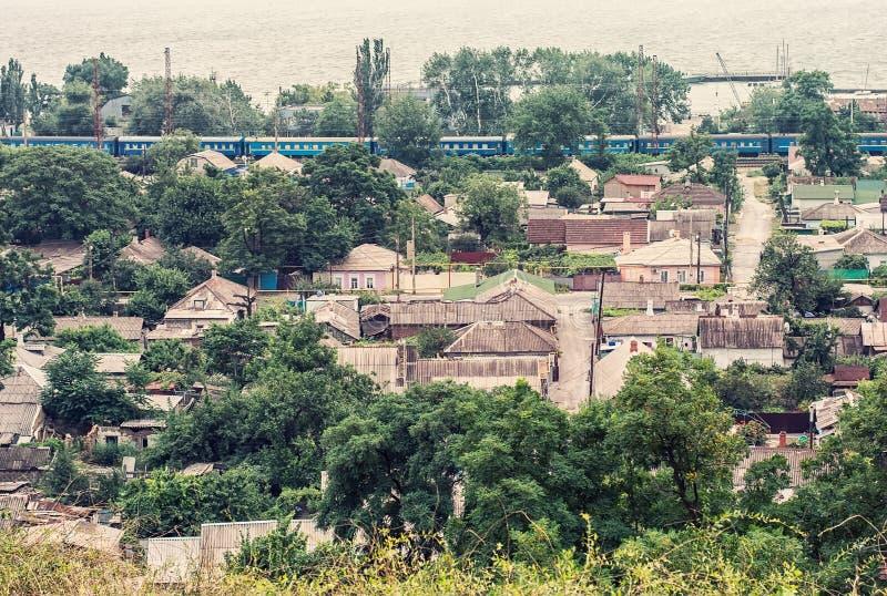 Ville Mariupol photo libre de droits