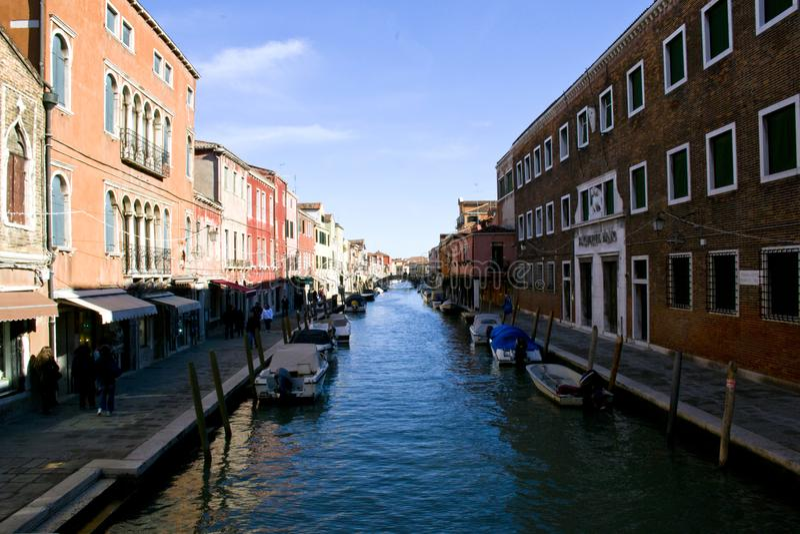 Ville merveilleuse de Murano, Venise - Italie photographie stock