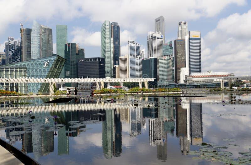 Ville Merveilleuse De Singapour Photographie éditorial
