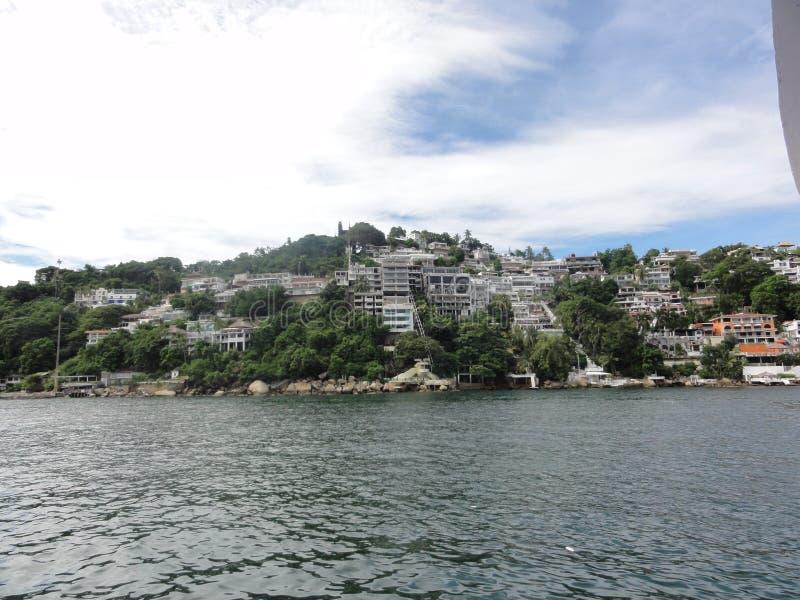 Ville mexicaine : Acapulco - le Mexique image stock