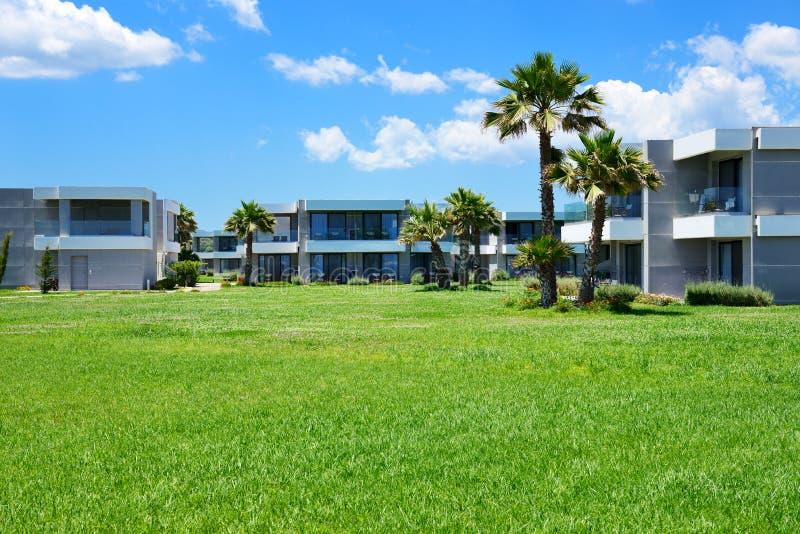 Ville moderne all 39 albergo di lusso fotografia stock for Ville moderne di lusso