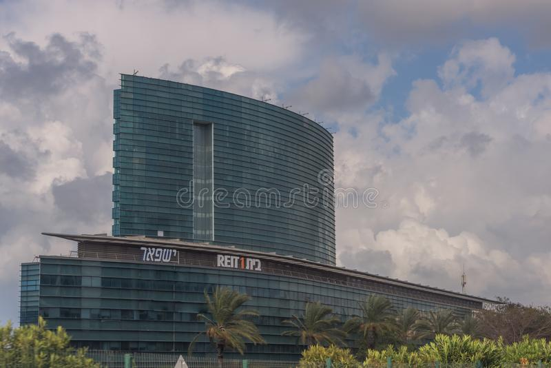 Ville moderne du Moyen-Orient Tel Aviv, la capitale de l'Israël Architecture moderne photo libre de droits
