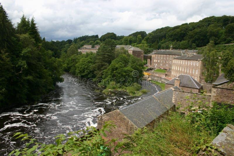 Ville neuve de Lanark photos libres de droits