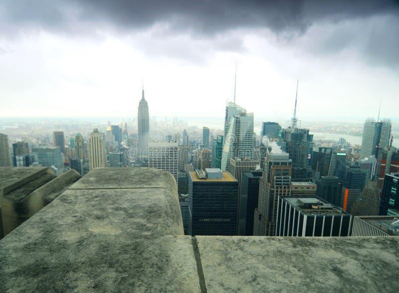 ville New York image stock