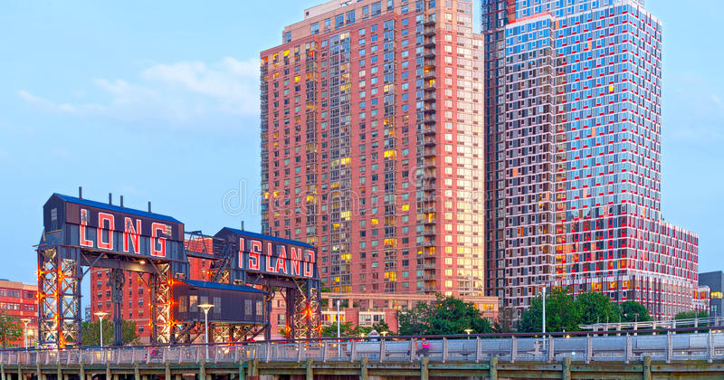 Ville New York du Long Island photographie stock libre de droits