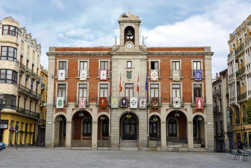 Ville nouvelle Hall de Zamora, Espagne photos libres de droits