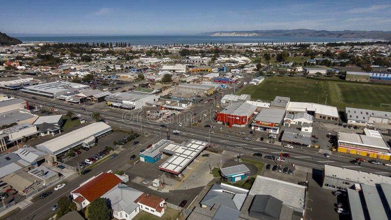 Ville Nouvelle-Zélande de Gisborne images stock