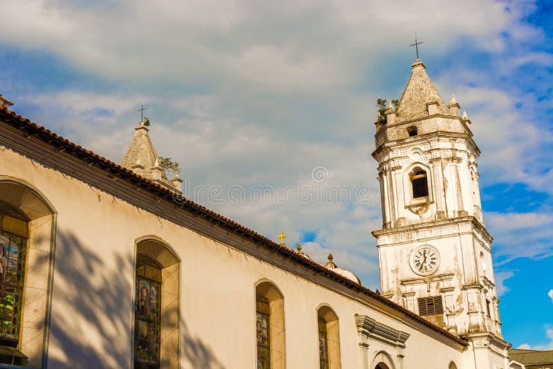 ville Panama de cathédrale photos stock