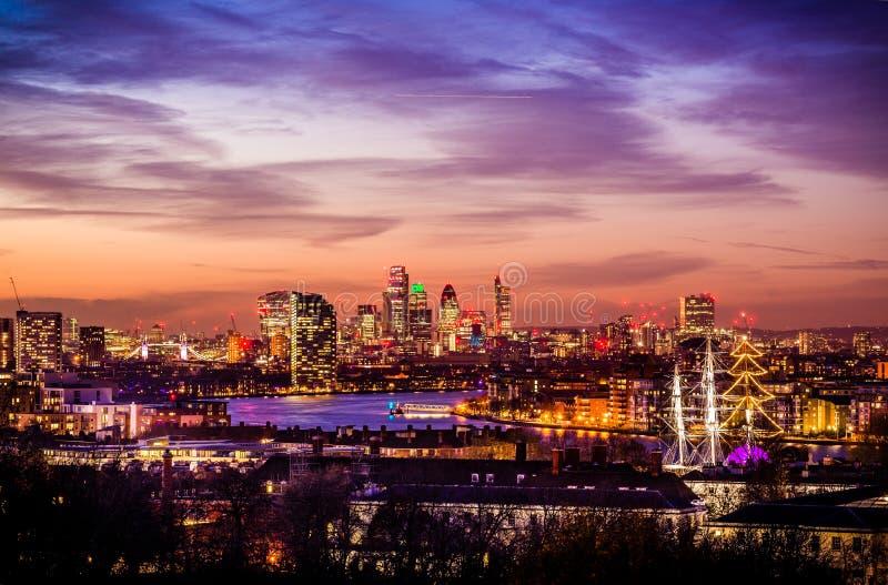 Ville parc de Londres, Greenwich images libres de droits