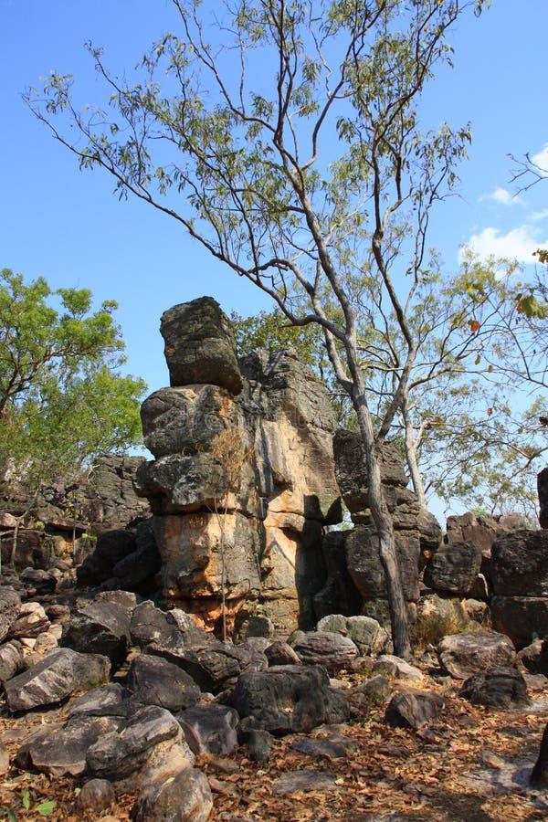 Ville perdue, parc national de Litchfield, territoire du nord, Australie images libres de droits