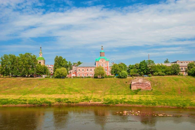 Ville russe antique de Smolensk images stock