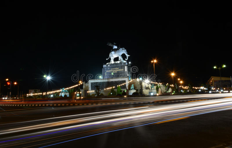 Ville Scape dans Buriram Thaïlande photos stock