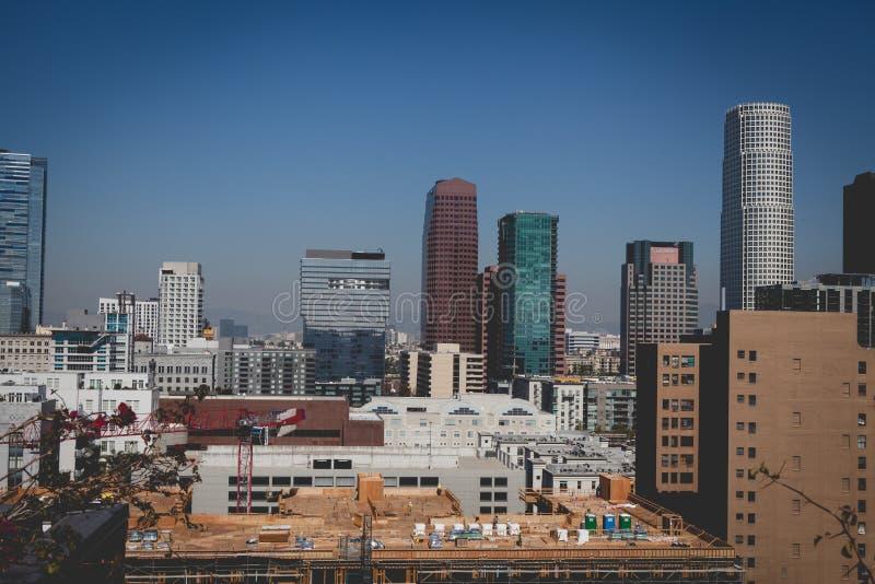 Ville Scape de Los Angeles image stock