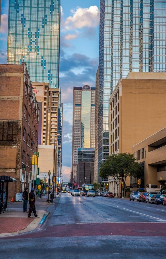 Ville Tx de Dallas photographie stock libre de droits