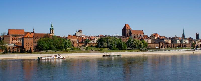 ville vieux Torun image libre de droits