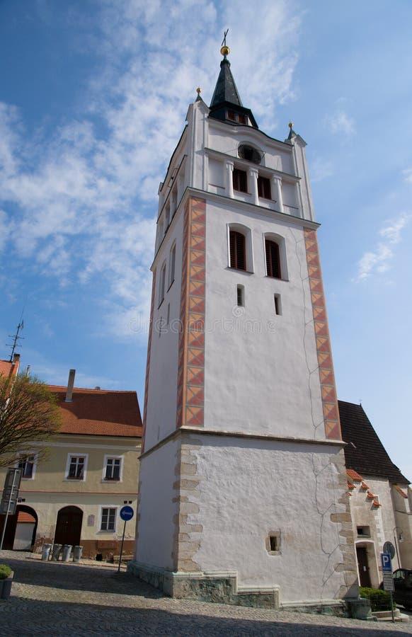 Ville Vimperk, Bohême du sud, République Tchèque image stock