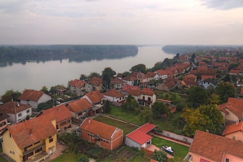 Ville Vukovar images libres de droits