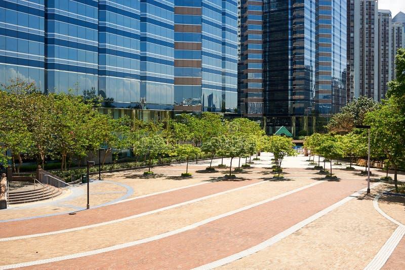 Villebrådfjärden parkerar i Hong Kong arkivbilder