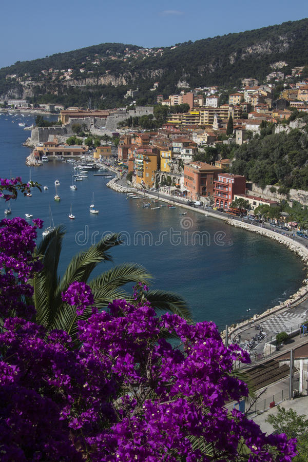 Villefranche - Cote d'Azur - French Riviera royalty free stock photo