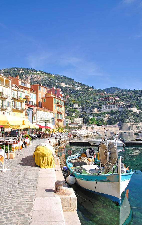 Villefranche-sur-Mer,,French Riviera,France stock photography