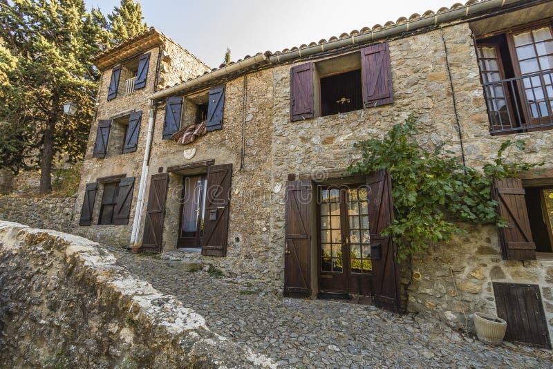 Villerouge Termenes, França imagem de stock