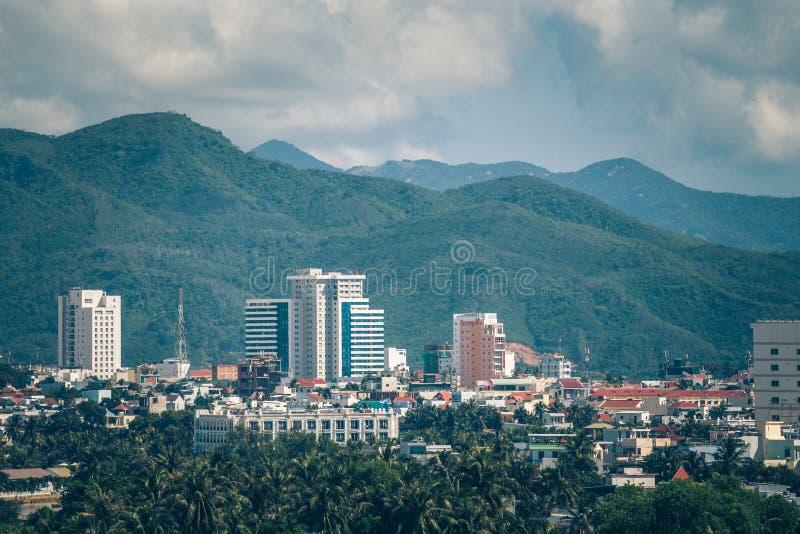 Villes en Asie du sud photographie stock libre de droits