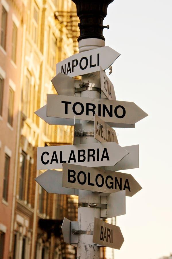 villes italiennes photographie stock libre de droits