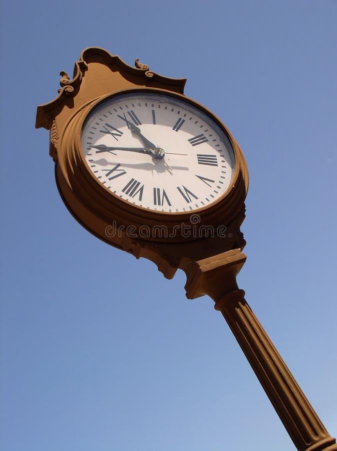 Download Villiage Clock II stock image. Image of retro, watch, hurry - 4415
