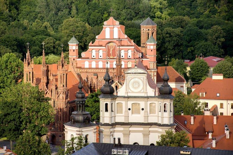 Vilnius royalty-vrije stock afbeeldingen