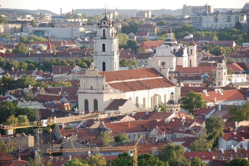 Vilnius fotos de archivo