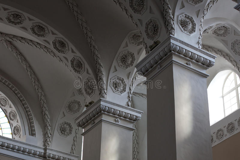 Vilnius Cathedral Interior royalty free stock image