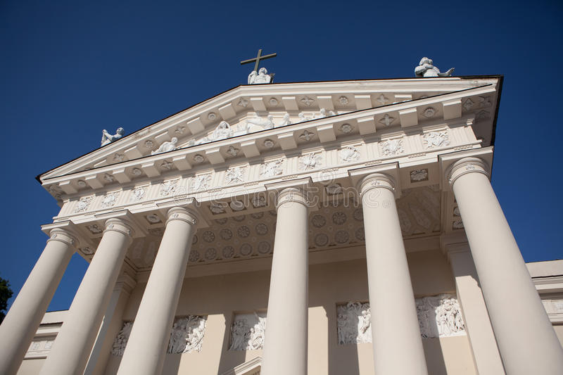 Vilnius Cathedral royalty free stock image