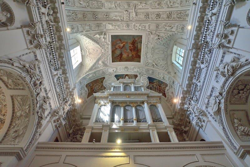 Vilnius - chiesa dello Sts Peter e Paul immagine stock libera da diritti