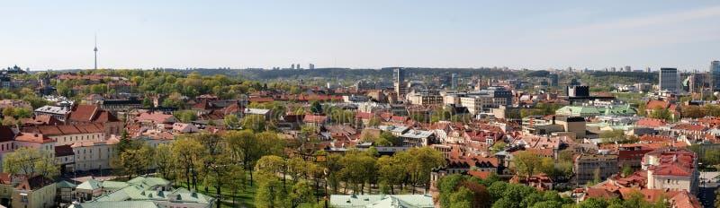 Vilnius city panoramic view with TV tower