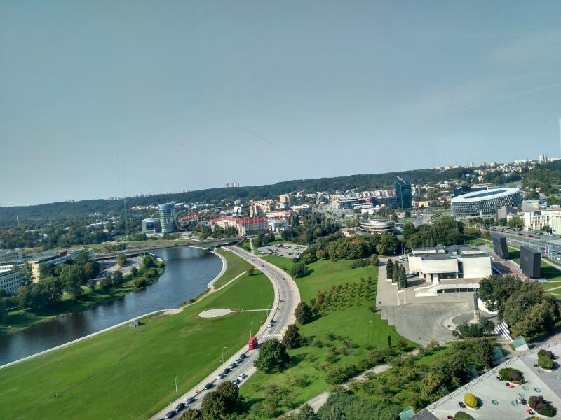 Vilnius landskap fotografering för bildbyråer