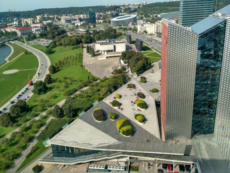 Vilnius landskap royaltyfria foton