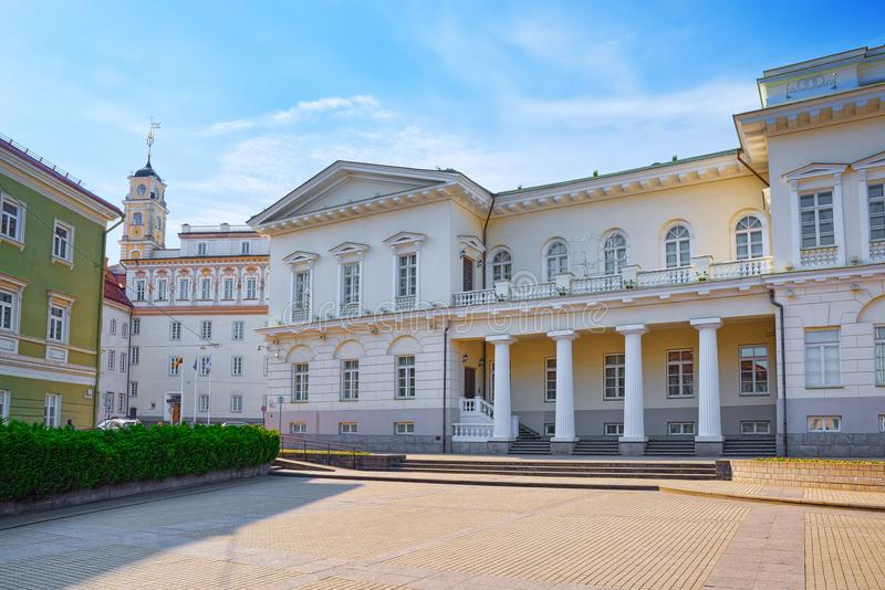 Office of the President of the Republic of Lithuania.Vilnus. royalty free stock images