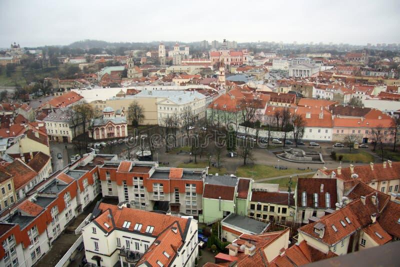 Vilnius (Lithuanie) photographie stock libre de droits