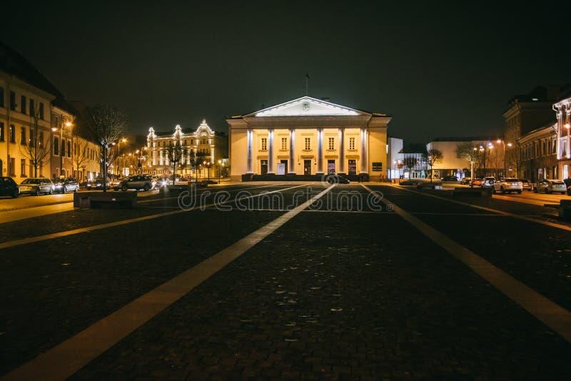 Vilnius, Lithuanie : hôtel de ville, Vilniaus lithuanien photos libres de droits