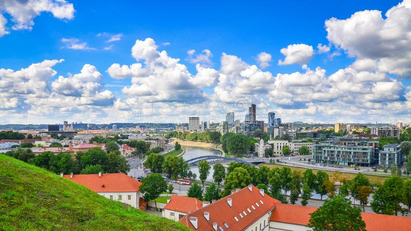 Vilnius, Lituania fotografía de archivo libre de regalías