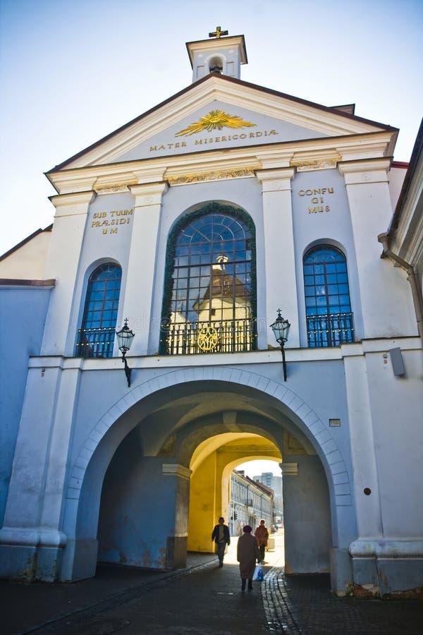 Vilnius, Lituania immagine stock libera da diritti