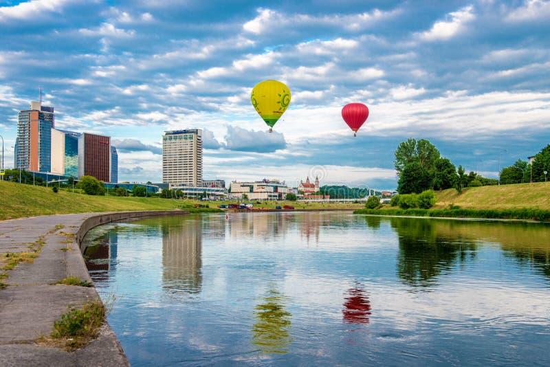 Vilnius przyciągania obrazy stock