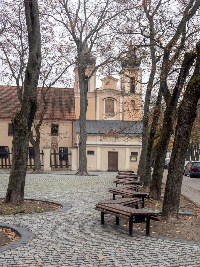 vilnius Vieille église images libres de droits
