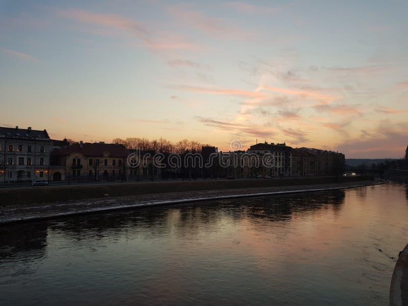 Vilnius w pokoju fotografia royalty free