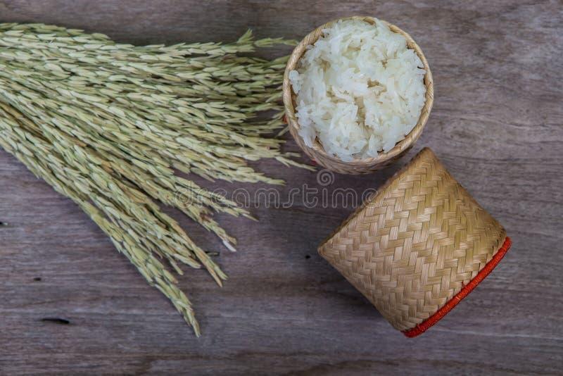 Vime do arroz pegajoso fotos de stock
